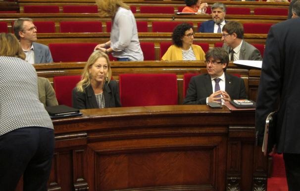 """Puigdemont reta a Rajoy a aclarar si usará """"la fuerza"""" y avisa de que eso no le frenará"""