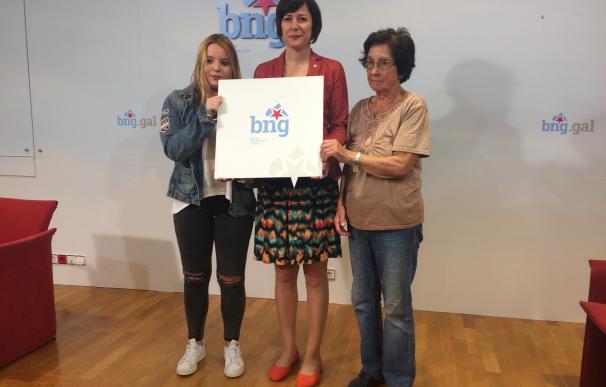 """El BNG presenta su nuevo logo como símbolo del """"nuevo tiempo político"""" del nacionalismo gallego"""