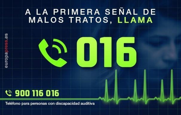 Las víctimas de violencia de género con orden de protección en Canarias suben un 3,2%, hasta las 1.301