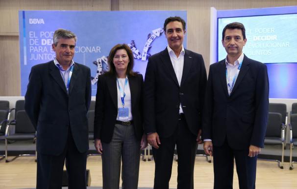 BBVA analiza en Girona sus previsiones económicas con empresarios