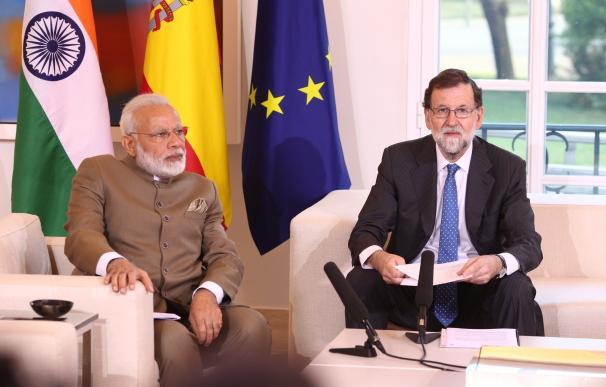 El primer ministro indio invita a las empresas españolas a participar en el desarrollo de sus infraestructuras