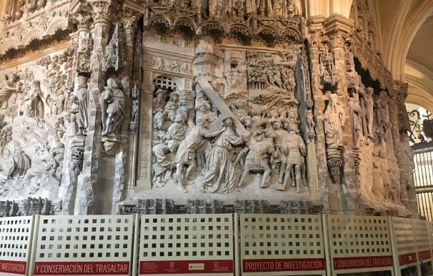 La restauración del trasaltar de la Catedral de Burgos costará 1,4 millones y finalizará en 2020