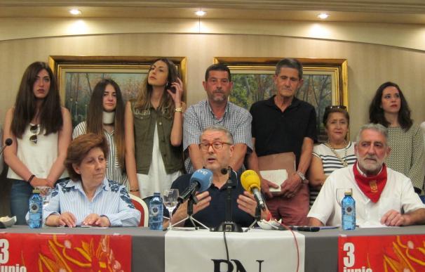 """Los convocantes de la manifestación del 3 de junio llaman a """"defender la bandera de Navarra"""" sin """"crear polémica"""""""