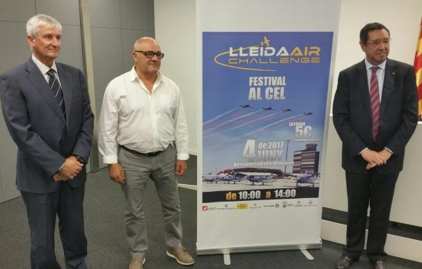 El aeropuerto de Lleida-Alguaire acoge la cuarta edición del festival aéreo Lleida Air Challenge