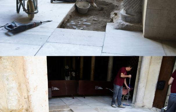 Comienzan las preceptivas catas arqueológicas previas al montaje de la segunda puerta de la Mezquita
