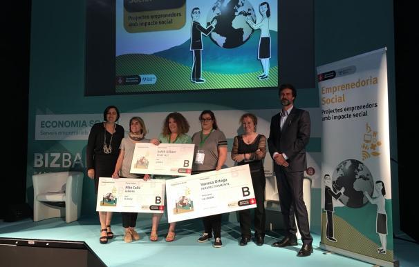 La plataforma PerspectivaMente recibe el premio Emprendeduría Social de Barcelona Activa