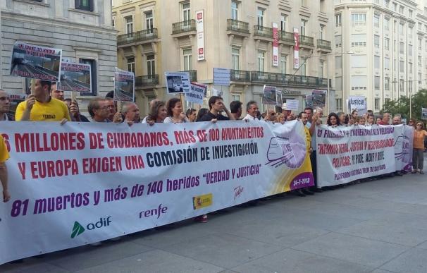 Podemos y En Marea reclaman al nuevo PSOE que apoye ahora una comisión parlamentaria sobre el accidente de Angrois