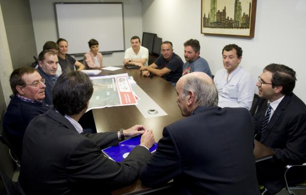 Mazón anuncia el inmediato inicio de las obras de dragado de mantenimiento de la dársena