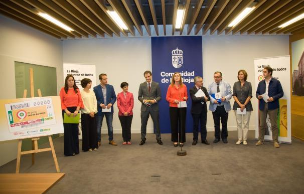 """El Gobierno regional exalta la voluntad del pueblo riojano como """"eje vertebrador"""" del Día de La Rioja"""