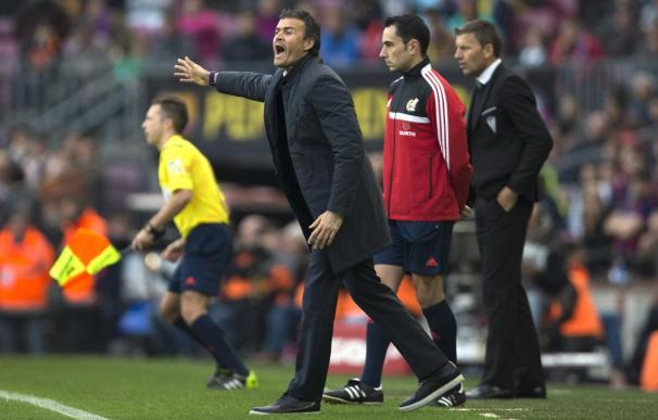 Luis Enrique espera poder fichar.