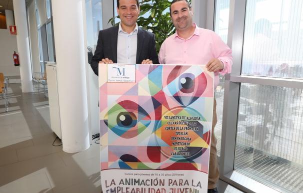 La Diputación impulsa cursos de animación en ocho municipios para mejorar la empleabilidad entre los jóvenes