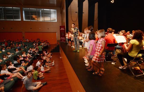 Unos 1.350 escolares participan en Tomares en el X Ciclo de Conciertos Didácticos y Familiares