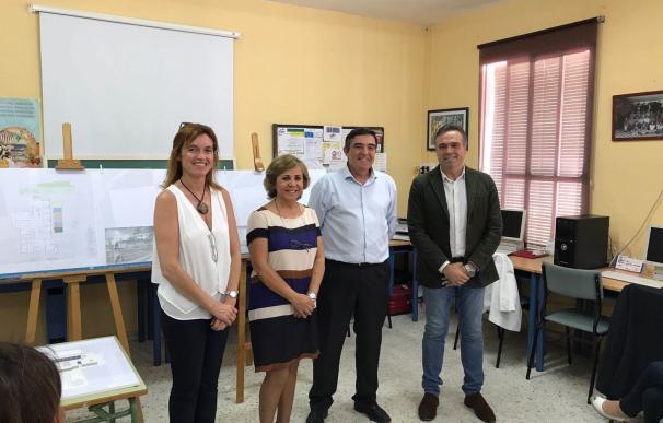 La Junta informa sobre el proyecto de sustitución del colegio Manuel Siurot de La Palma del Condado