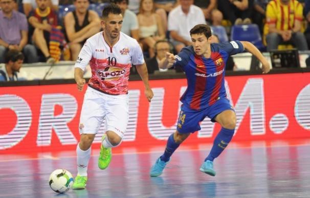 El Barça golea a ElPozo (5-1) y fuerza el tercer partido de semifinales