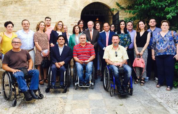 Sánchez Rubio destaca que la ley de derechos y atención a las personas con discapacidad mejorará el acceso al empleo