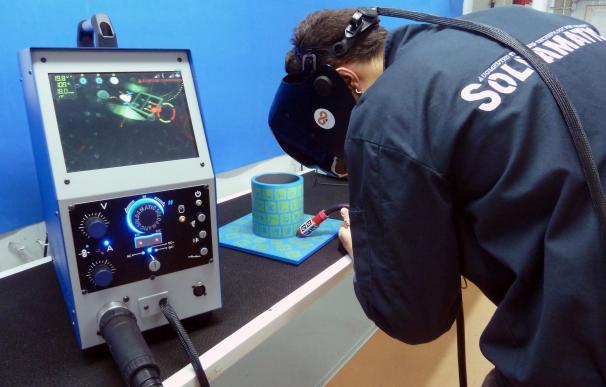 La capital acogerá el primer campeonato nacional de soldadura con simulación en realidad aumentada