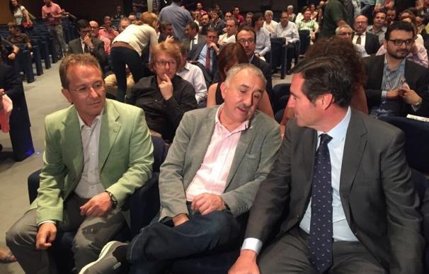 Álvarez (UGT) aboga por un pacto de Estado que permita consensuar políticas de reactivación industrial