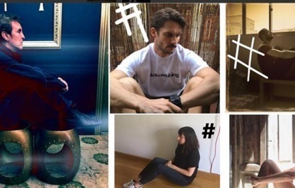 Íñigo Errejón, Mamen Mendizábal o Alba Flores se unen al reto 'Waiting Challenge' en solidaridad con los refugiados