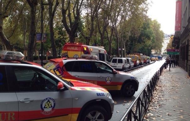 Herido grave un trabajador del Parque de Atracciones de Madrid tras sufrir un fuerte golpe con una vagoneta