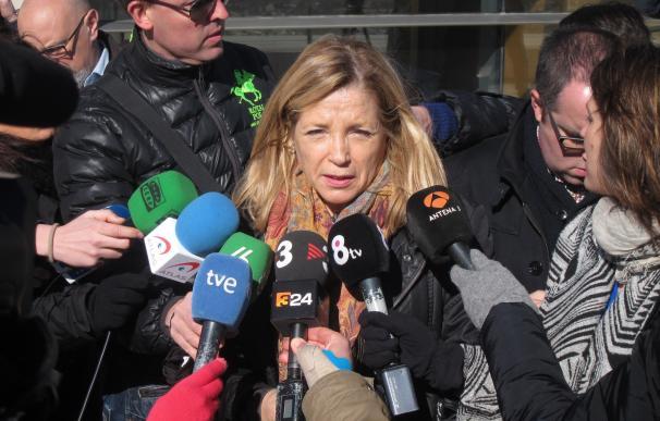 Joana Ortega solicita al TSJC ejecutar su inhabilitación sin esperar al pronunciamiento del TS