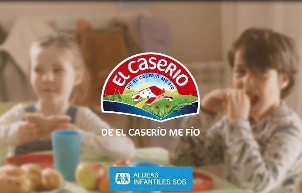 El Caserío lanza su nueva campaña 'Alimenta su futuro' en la que colabora con Aldeas Infantiles SOS