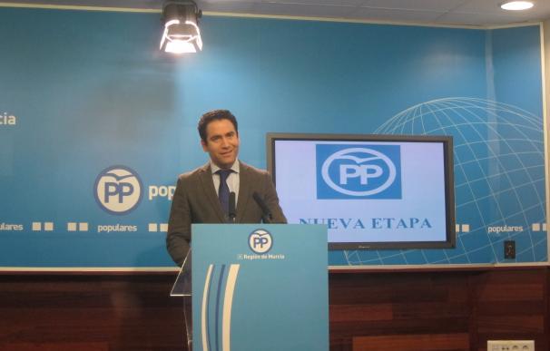 """Teodoro García asegura que """"la Región tiene en los presupuestos de 2017 la mejor herramienta para construir su futuro"""""""