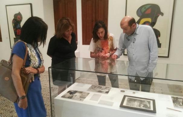 Fanny Tur visita la exposición 'Pablo Picasso y Joan Miró: Historia de una amistad' en Can Prunera