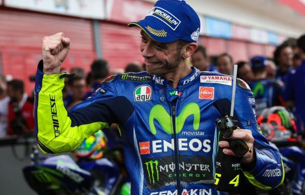 """Valentino Rossi: """"Mi condición mejora día a día, pero el dolor es todavía severo"""""""