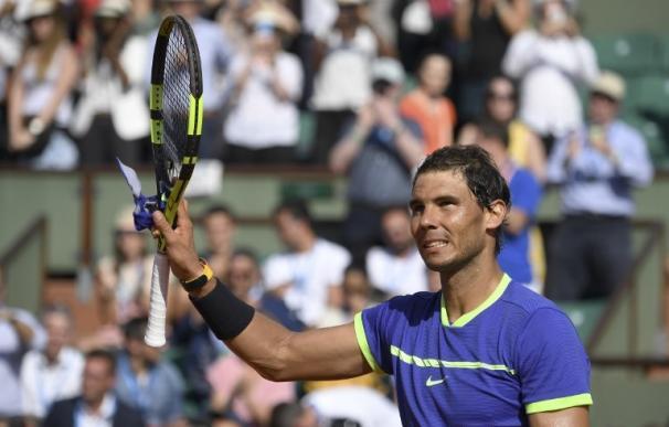 Nadal, Djokovic y Muguruza pasan a tercera ronda en Roland Garros