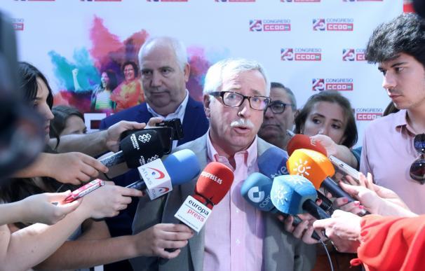 """Toxo lamenta los PGE """"de resignación"""" en vez de """"expansivos"""" y confía en llegar a un acuerdo salarial con la patronal"""