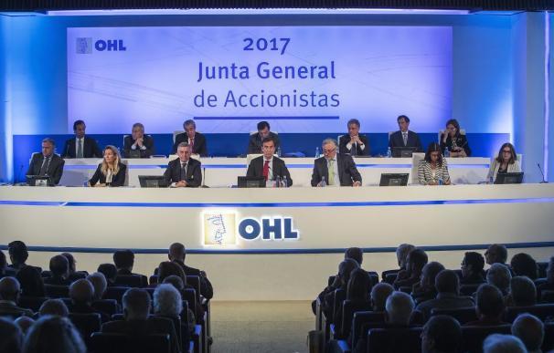 Junta General de Accionistas de OHL 2017