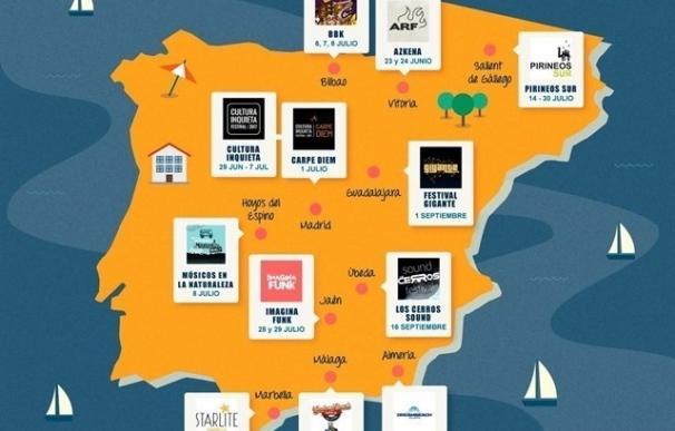 Arranca la temporada de festivales de música en España