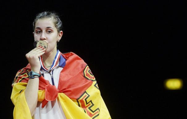 Carolina Marín consigue un oro histórico en los Mundiales de bádminton