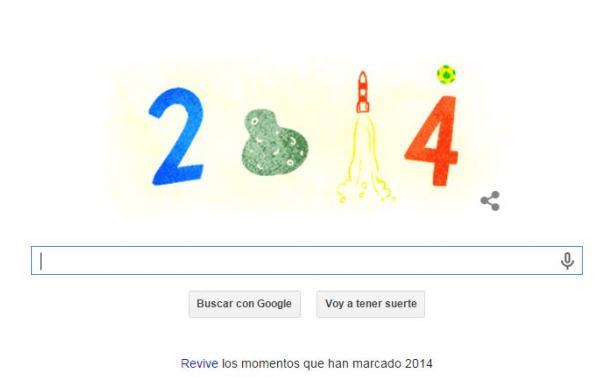 Último doodle de Google del 2014