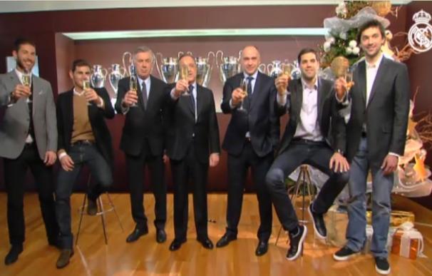 Felicitación Año Nuevo Real Madrid
