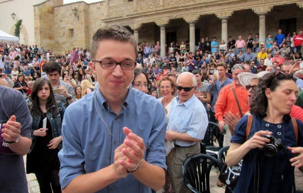 """Errejón confía en que el debate Iglesias-Rivera sirva para ver """"claramente"""" cuáles son las dos opciones"""