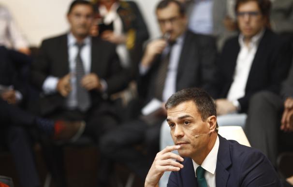 """Pedro Sánchez admite que su """"desafío"""" es """"movilizar"""" al electorado socialista """"desanimado"""""""