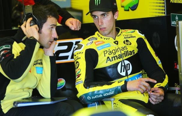 """Rins: """"No tenía ganas de subirme a la moto, pero quería dedicárselo a Luis"""""""