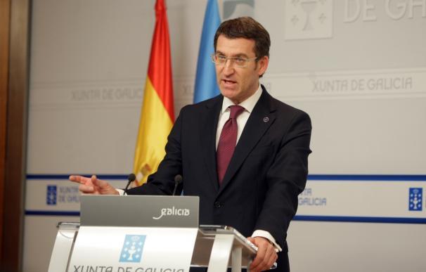 """Feijóo espera que Xunta revise al alza la previsión de crecimiento de Galicia: """"Vamos a superar varias décimas el 2,5"""""""