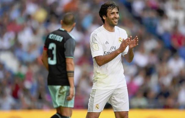 El Bernabéu se vuelca con Raúl y disfruta del 'Corazón Classic Match'