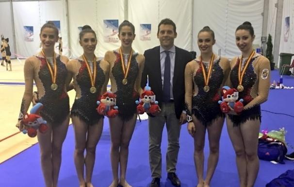 El equipo español logra un oro y dos bronces en la Copa del Mundo de Guadalajara
