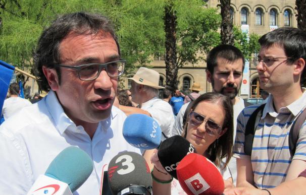 Rull reitera que la Generalitat seguirá luchando contra el Plan Hidrológico del PP