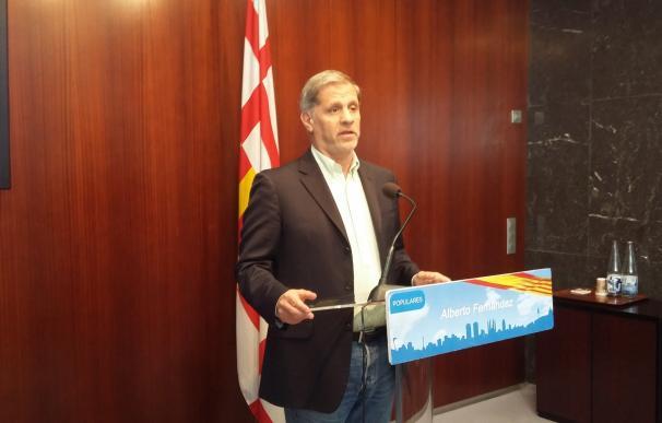 Alberto Fernández (PP) critica la agresión a jóvenes de la plataforma 'Barcelona con la Selección'