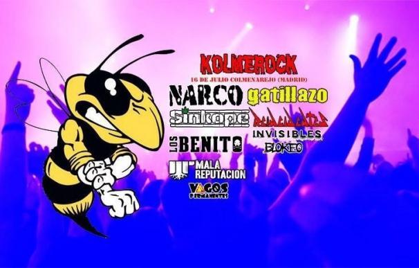 Kolme Rock 2016 tendrá a Reincidentes, Narco, Gatillazo y Sínkope