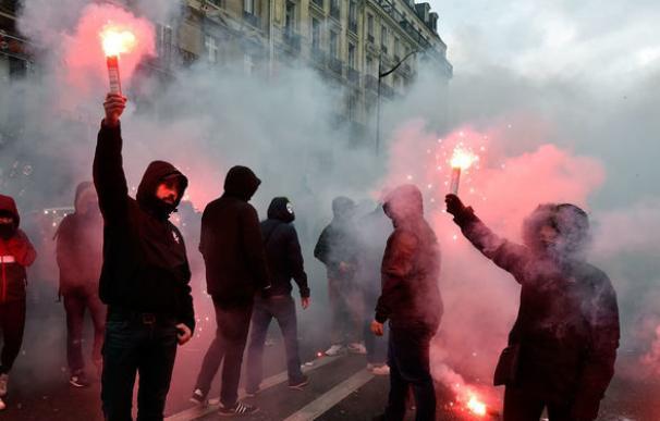 El 54% de los franceses rechazan las protestas contra la reforma laboral