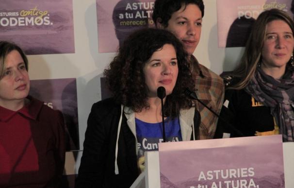 """Castañón (Unidos Podemos) prefiere ver las encuestas con """"cautela"""" y """"prudencia"""""""