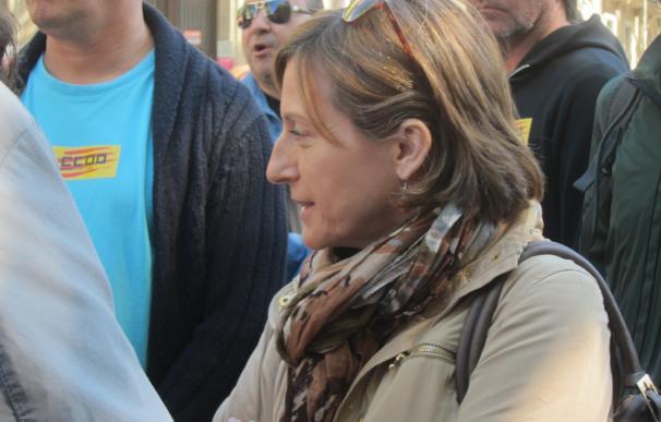 """Forcadell asegura que el Ebro sin caudal provocaría la """"muerte"""" del Delta"""