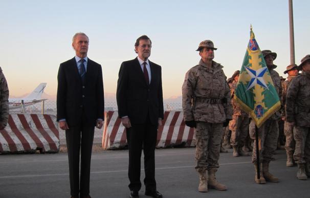 Rajoy pide al presidente afgano que abra las puertas a las empresas españolas en la reconstrucción del país