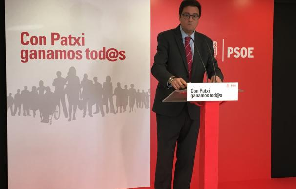 """Patxi López quiere debates porque no es momento de """"mítines ni arengas"""", sino de explicar y responder"""