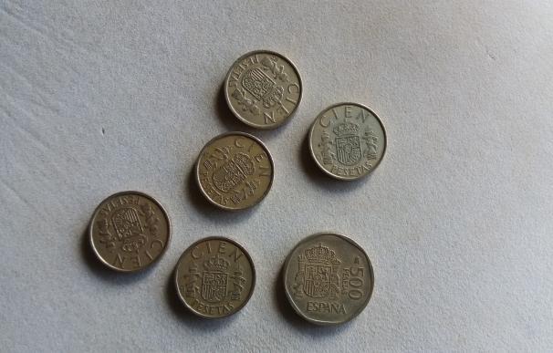 Los españoles aún conservan pesetas por 1.641 millones de euros